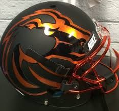 Image result for boise state football helmets