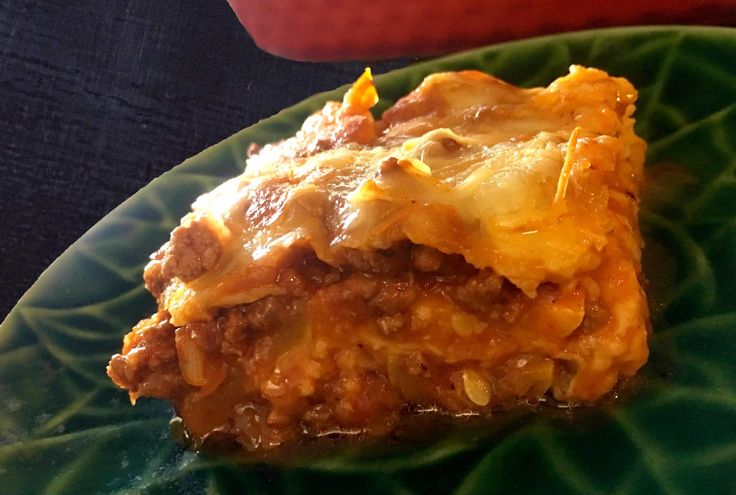 Low Carb Lasagna with Yellow Squash Noodles Recipe