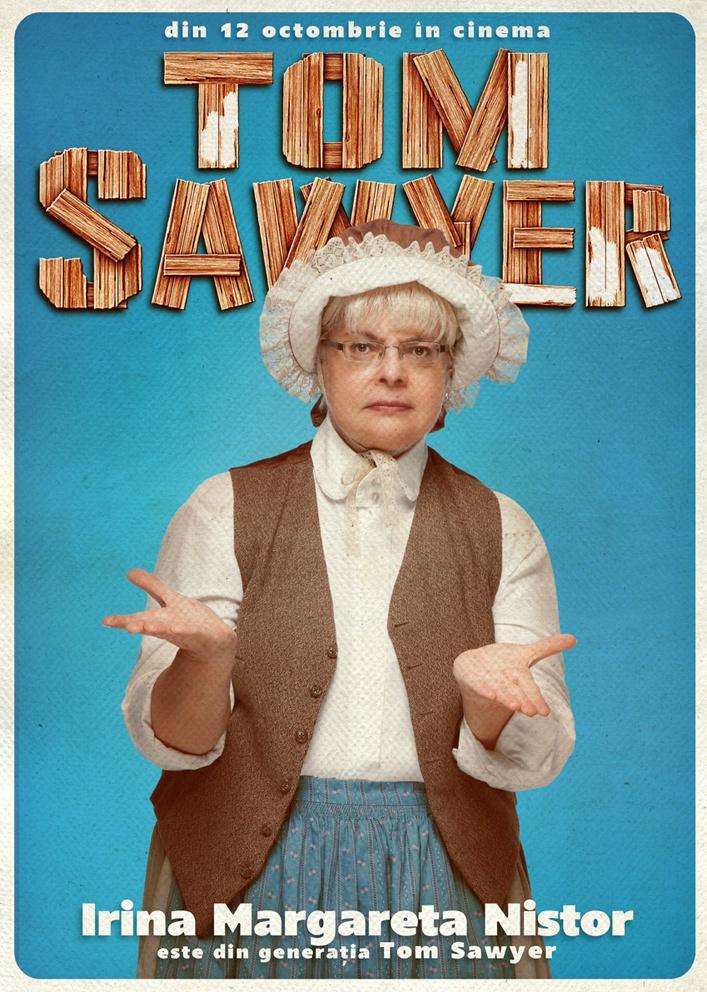Irina Margareta Nistor este din Generația Tom Sawyer!