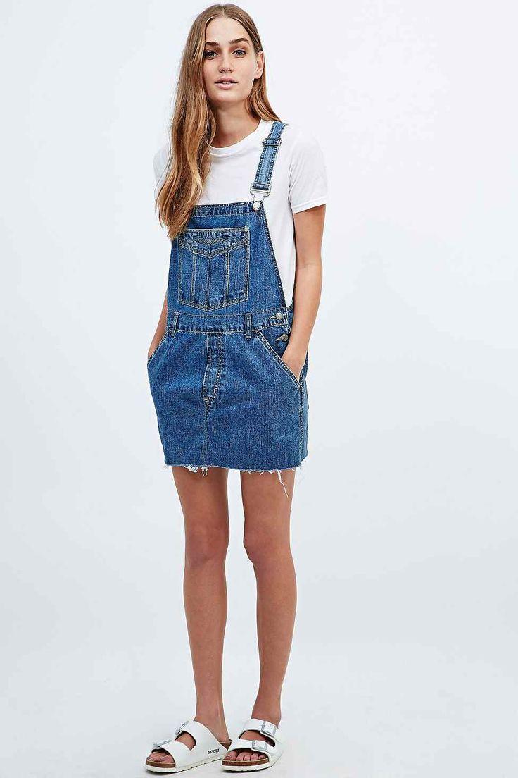 Urban Outfitters - Urban Renewal Vintage Re-Made Denim Dungaree Dress £45
