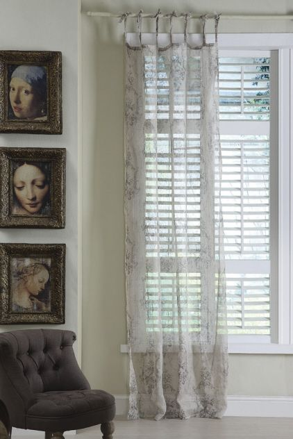 94 best Voiles and Net Curtains images on Pinterest Bedrooms
