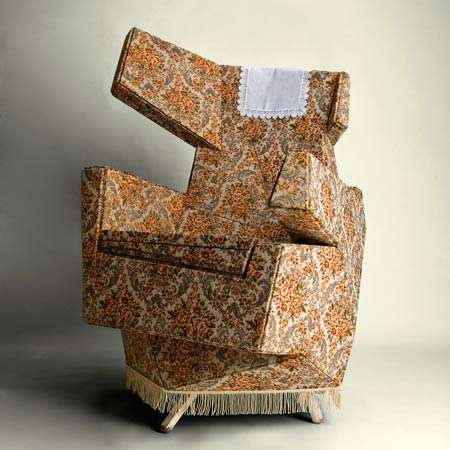 Hannes Grebin - I want to sit in this chair so I can see if it's as uncomfortable/awkward as it looks
