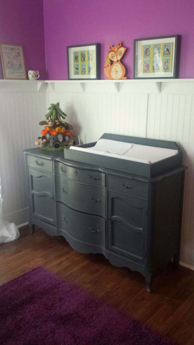 Itsy Bits And Pieces: A Fun Dresser Makeover Using Chalky Finish Paint. Baby  FurniturePainting ...