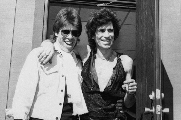 Keith Richards & George Thorogood.