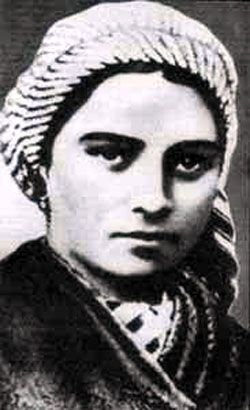 Image of St. Bernadette Soubirous Feastday: April 16th pray for us.  Patron of illness, people ridiculed for their piety, poverty, shepherds, shepherdesses, and Lourdes, France  Birth: January 7, 1844  Death: April 16, 1879  Beatified By: 1925  Canonized By: by Pope Pius XI on December 1933