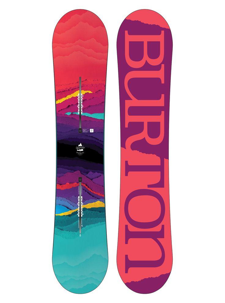 Women's Burton Feelgood Flying V Snowboard