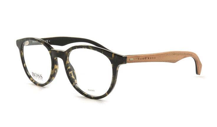 Brille von Hugo Boss 778 RBB 50 Grün. Jetzt erhältlich bei Brille Kaulard.