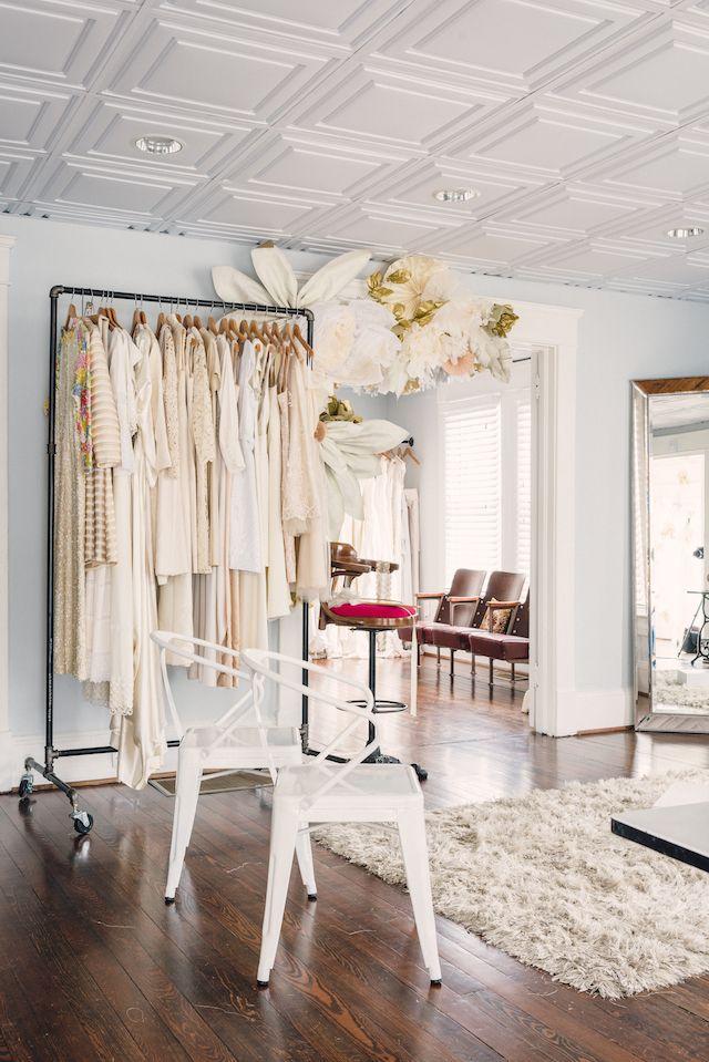 The Sentimentalist Bridal Shop InteriorBoutique