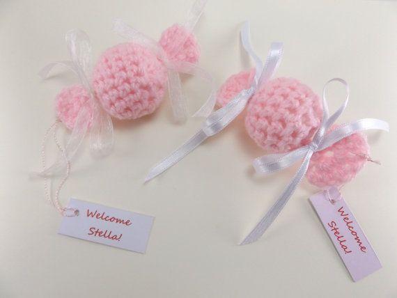 unique baby shower favors crochet candy decor wedding favor party favour bonbons christening favor