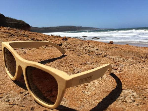 Roots bamboo sunglasses from Timber...sustainable, super lightweight, and stylish!