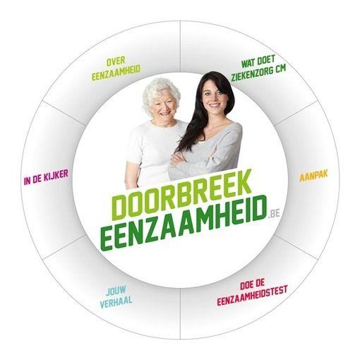 """Doorbreek eenzaamheid Eenzaamheid treft 14 procent van de Belgen tussen 18 en 80 jaar. In absolute cijfers betekent dit dat 1 250 000 Belgen zich """"eerder sterk tot sterk eenzaam"""" voelen"""