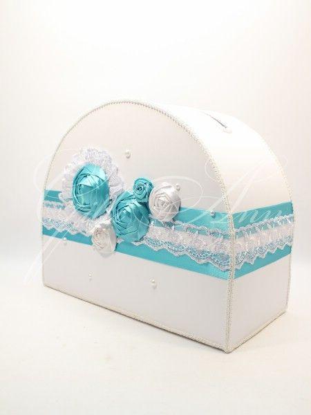 Свадебный сундучок с цветами Gilliann Lace Flowers BOX058 , http://www.wedstyle.su/katalog/anniversaries/wedding-box-money, #wedstyle, #свадебныеаксессуары, #сундучокдляденег, #свадебныйсундучок, #weddingbox