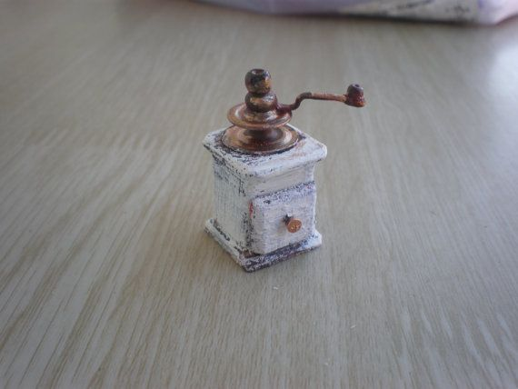 dollhouse coffee grinder by spirtokoutominis on Etsy
