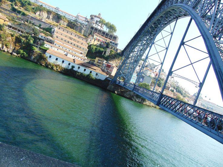 Espelho de água 💦 Ponte D. Luís - Porto