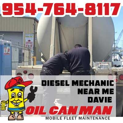 954-764-8117 Diesel Mechanic Near Me Davie Your Business Runs on Wheels We Service Diesels Call Now.   http://oilcanman.com/diesel-mechanic-near-me-davie/   #DavieDieselMechanicNearMe #DieselMechanicNearMeDavie #DavieDieselMechanicsNearMe #DieselMechanicsNearMeDavie   Oil Can Man 954-764-8117 730 NW 7th St Fort Lauderdale, FL 33311 Repairs@OilCanMan.com www.OilCanMan.com
