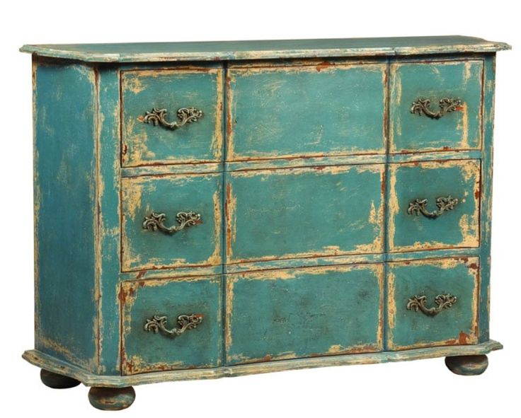 Hand distressed Chest