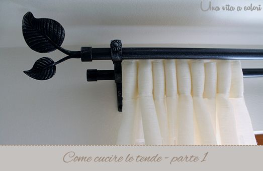 come cucire le tende - parte 1 | Tutorial DIY Craft, sewing | Pintere ...