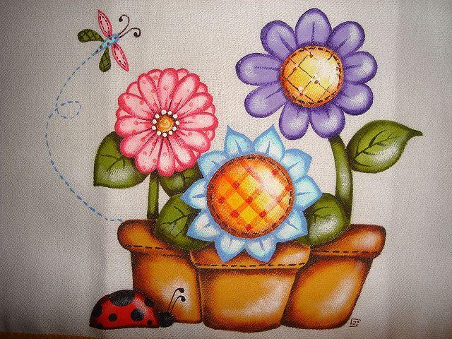 Pintura em tecido | Flickr – Compartilhamento de fotos!