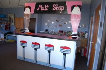 Premier's Exclusive & Functional Malt Shop Bar
