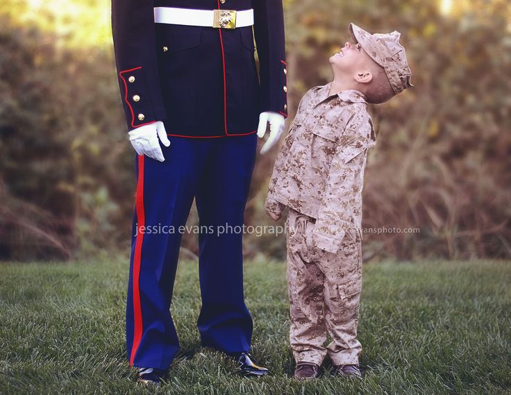 My son and husband! OoRah USMC- by Jessica Evans Photography