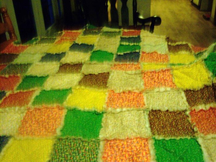 My quilt: Quilt
