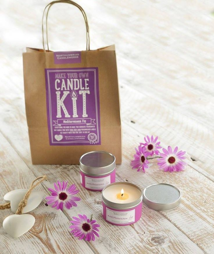 Make your own candle kit by Northumbrian Candleworks