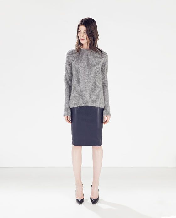 17 meilleures idées à propos de Faux Leather Pencil Skirt sur ...