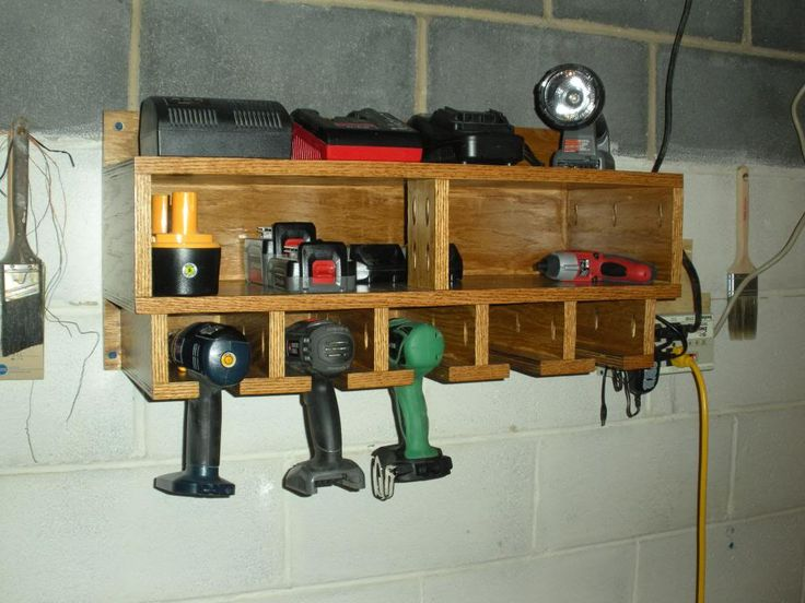 WOOD: Cordless Tool Station - Woodworking Talk - Woodworkers Forum