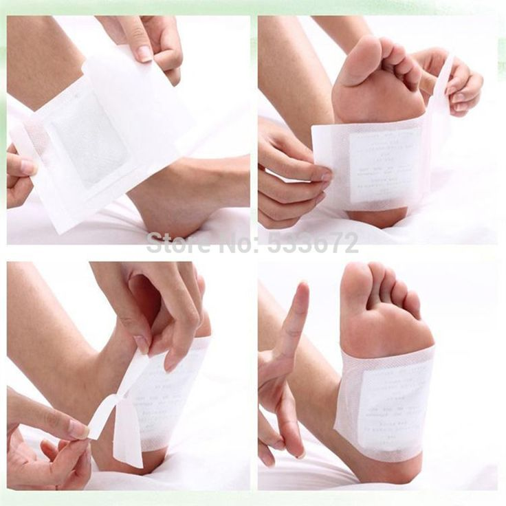 Foot Pedicure Feet Caring Treatment Patch Bamboo Vinegar Feet Care Feet Health Detoxification 5pairs