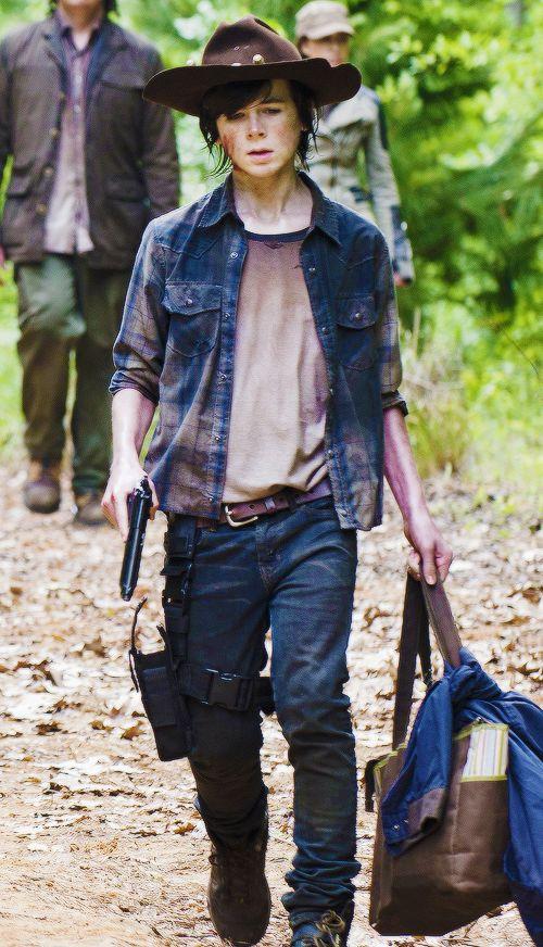 The Walking Dead season 5. Carl