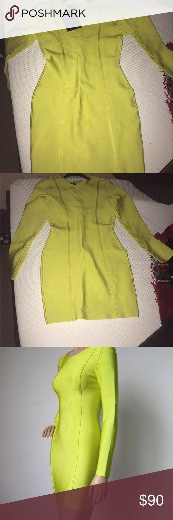 Celeb Boutique Bodycon Long sleeve Bandage Dress Beautiful Brand New Bodycon Bandage Dress Dresses Long Sleeve
