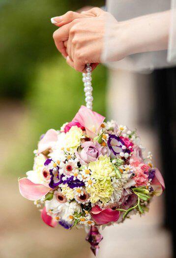 Brautstrauss Extravagant F O R E V E R Wedding Bridesmaid