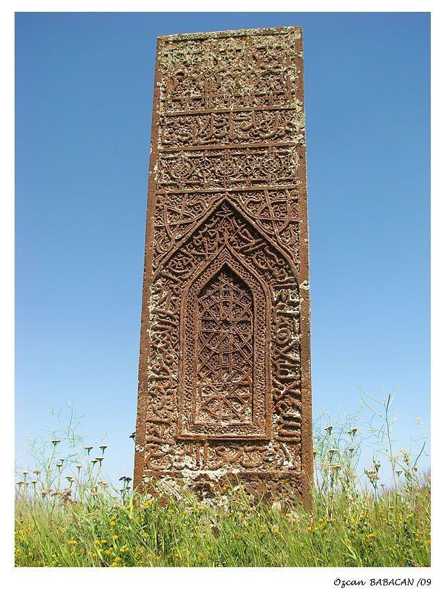 tombstone Seljuq Empire Turkiye-Bitlis-Ahlat