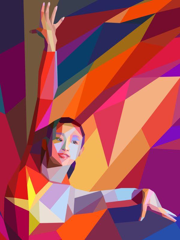 Ilustraciones geométricas de Londres 2012 | sensación desain