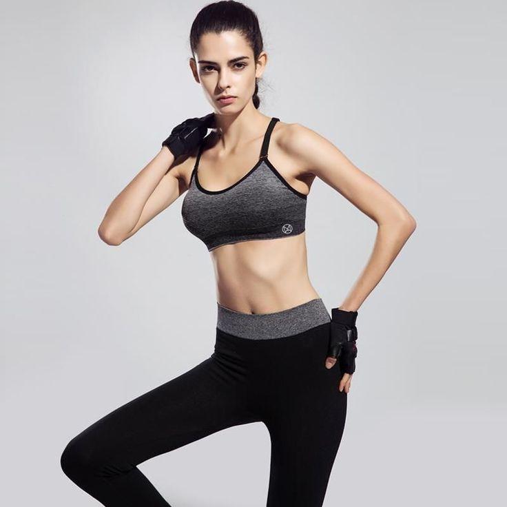 Brassière Soutien Femme Gorge Sport Fitness Bra Beauty Séchage Rapide #Running #Brassière