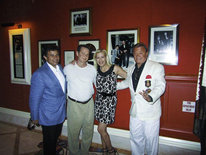 Sinatra Restaurant inside the Encore Wynn Resort