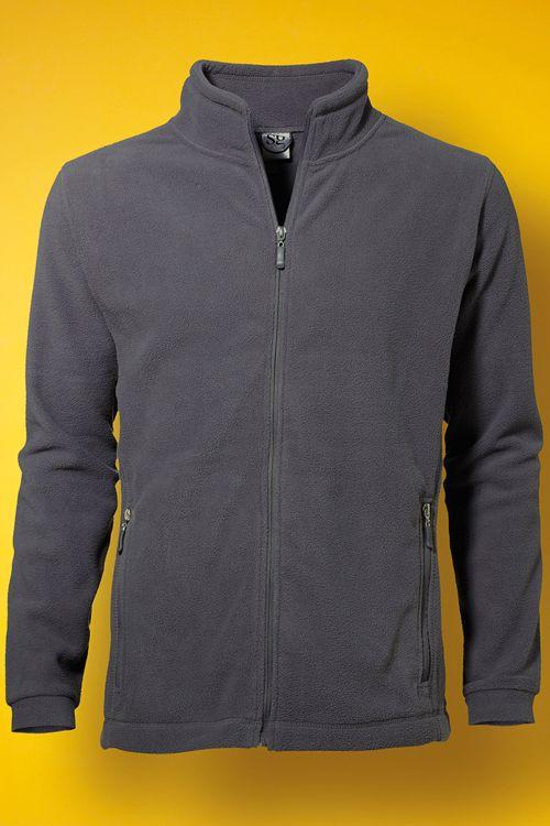 Jachetă fleece de bărbat fermoar SG | logofashion.ro #polare #jachetepolar #polarepersonalizate #polarepromotionale #broderie #personalizarepolare #imbracamintedelucru