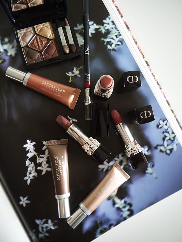 Dior Fall 2017 Metallics Collection Hair And Beauty