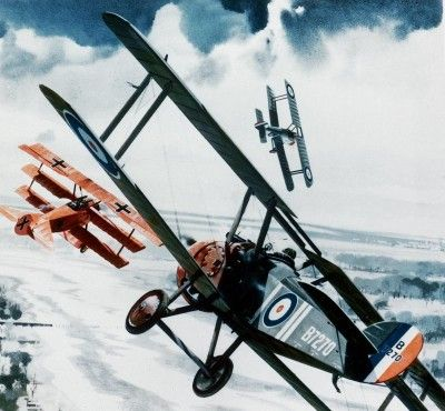 Red Baron Plane and Sopwith Camel