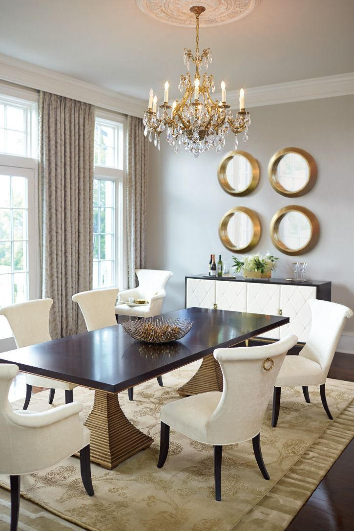 Bernhardt Defines The New Transitional Glamour. Hadley Court Interior Design.  Dining Rooms. Living