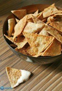 Healthy snacks recipe:  Jicama Chips