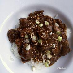 Koreaans rundvlees uit de slowcooker - Levine