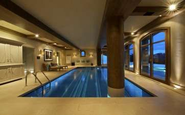 Spa at Shemshak Lodge in Courchevel 1850  – Book with Luxury and Little Ones. www,luxuryandlittleones.com