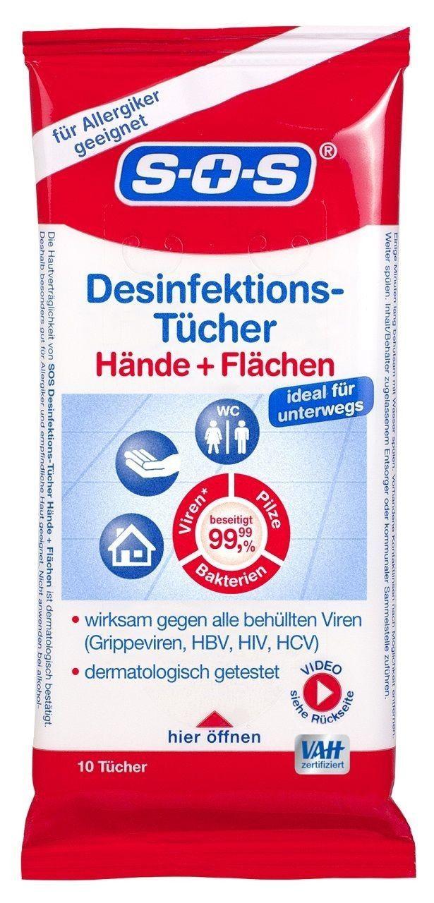 Sos Desinfektions T 252 Cher 10 T 252 Cher Zur Desinfektion