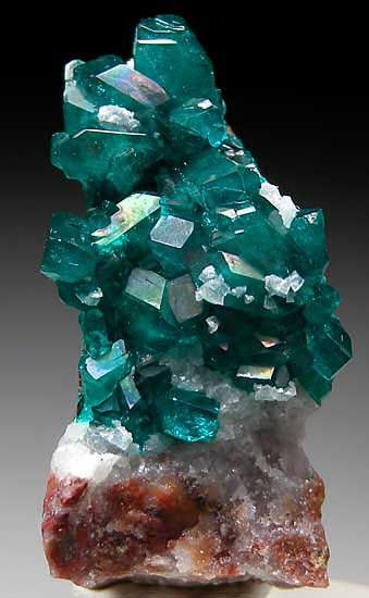 Dioptase from Tsumeb Mine, Namibia