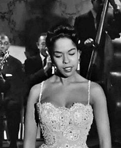 Della Reese in 1958 rock 'n' roll film, Let's Rock