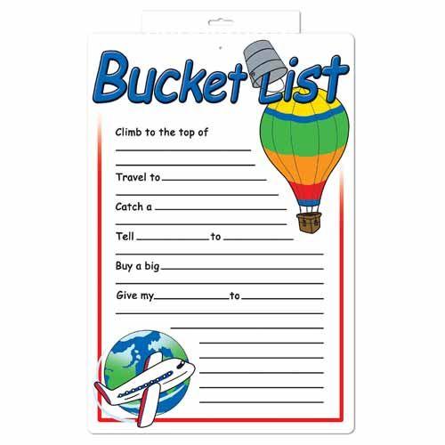 retirement bucket list ideas bucket list partygraph 13