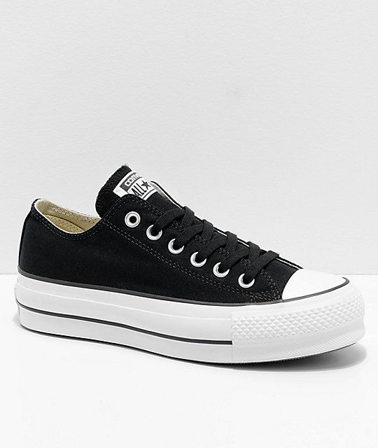 20fcfcca96706a Converse Chuck Taylor All Star Lift Black   White Shoes in 2019 ...