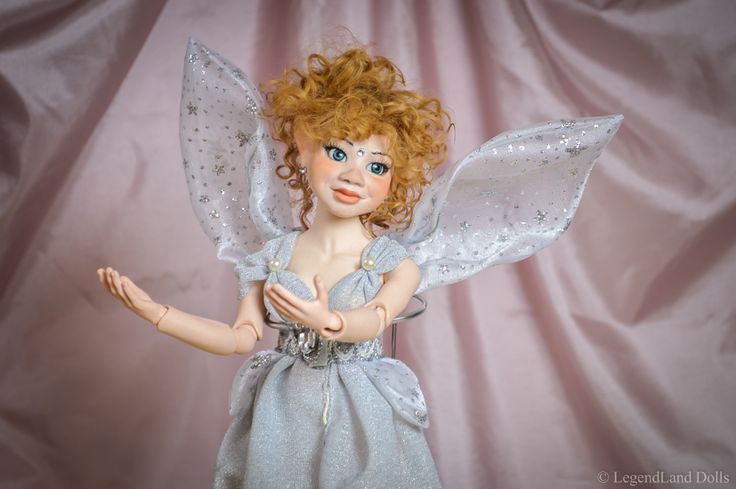 Porcelain art doll, hand made ball jointed moveable doll for sale. OOAK doll by LegendLand Dolls