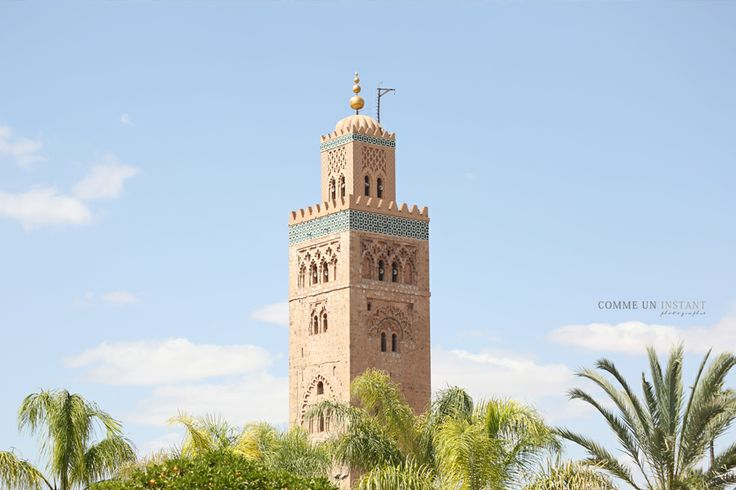 Photographie Marrakech * Koutoubia www.commeuninstant.com